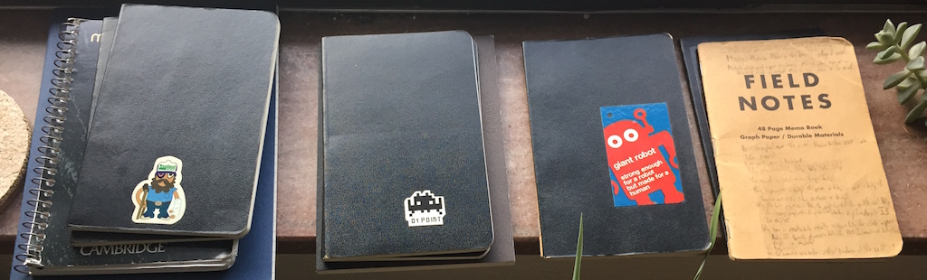 ryan's pocket notebooks